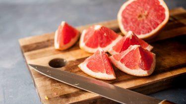 ontbijten, afvallen, ontbijt, effectieve voeding, grapefruit