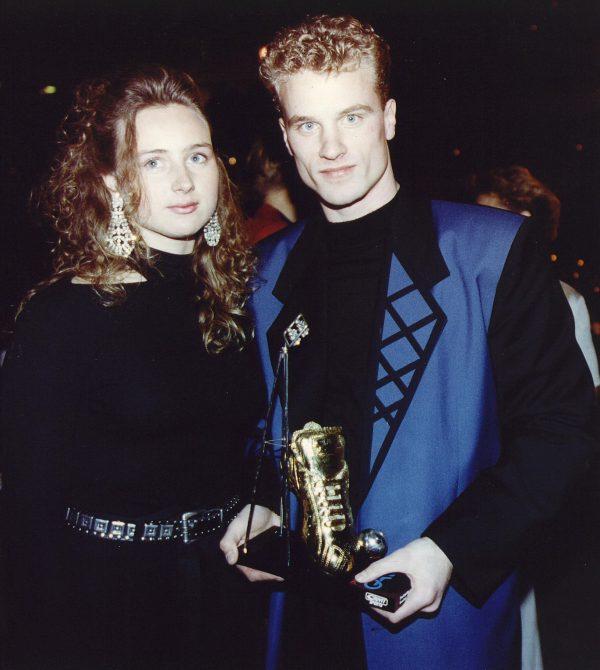 looks, nederlandse voetballers, jaren 90, dennis bergkamp