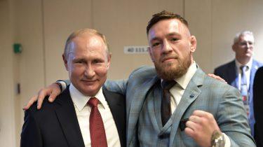 Conor McGregor met Khabib fan Poetin