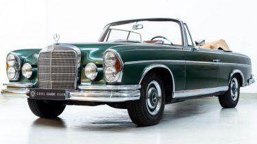 Mercedes 300 SE, groen, marktplaats, droom occasion, tweedehands, freddy heineken