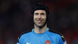 Petr Cech Chelsea ijshockey