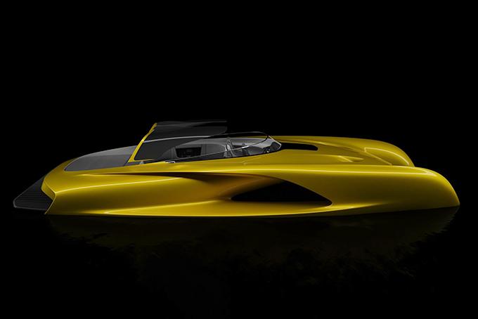 Salomé Yacht Atlantic Tender jacht