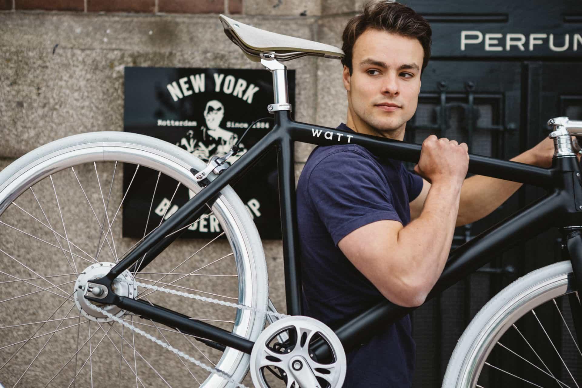 Fixie e-bike van Watt elektrische fiets