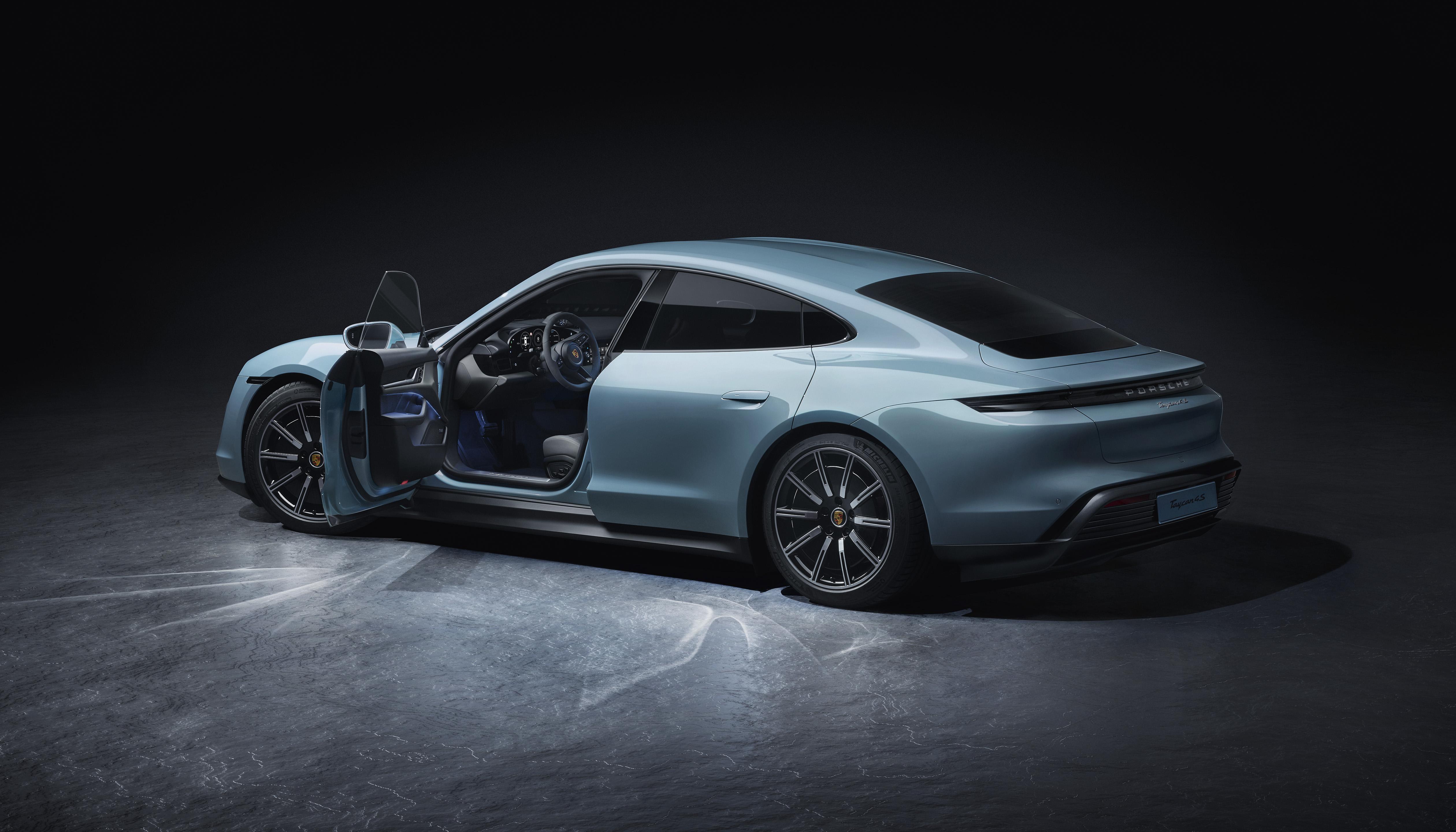 Porsche Taycan 4S Elektrische auto