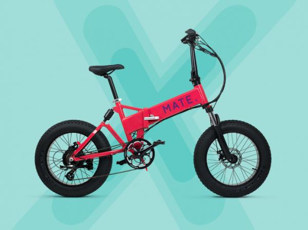 vouwfiets, Elektrische fiets, Mate X opvouwbare e-bike