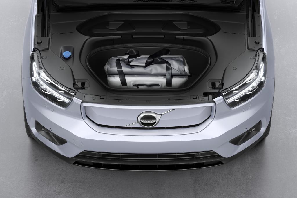 Volvo XC40 Recharge elektrische auto