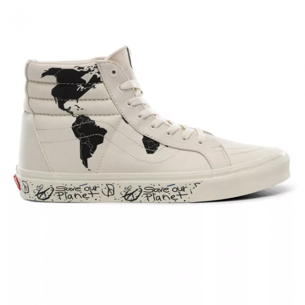 vans, save our planet, collectie, sneakers, sk8-hi