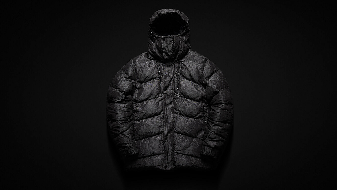 vollebak, Indestructible Puffer, puffer jacket, donsjas, staal, warm, sterk