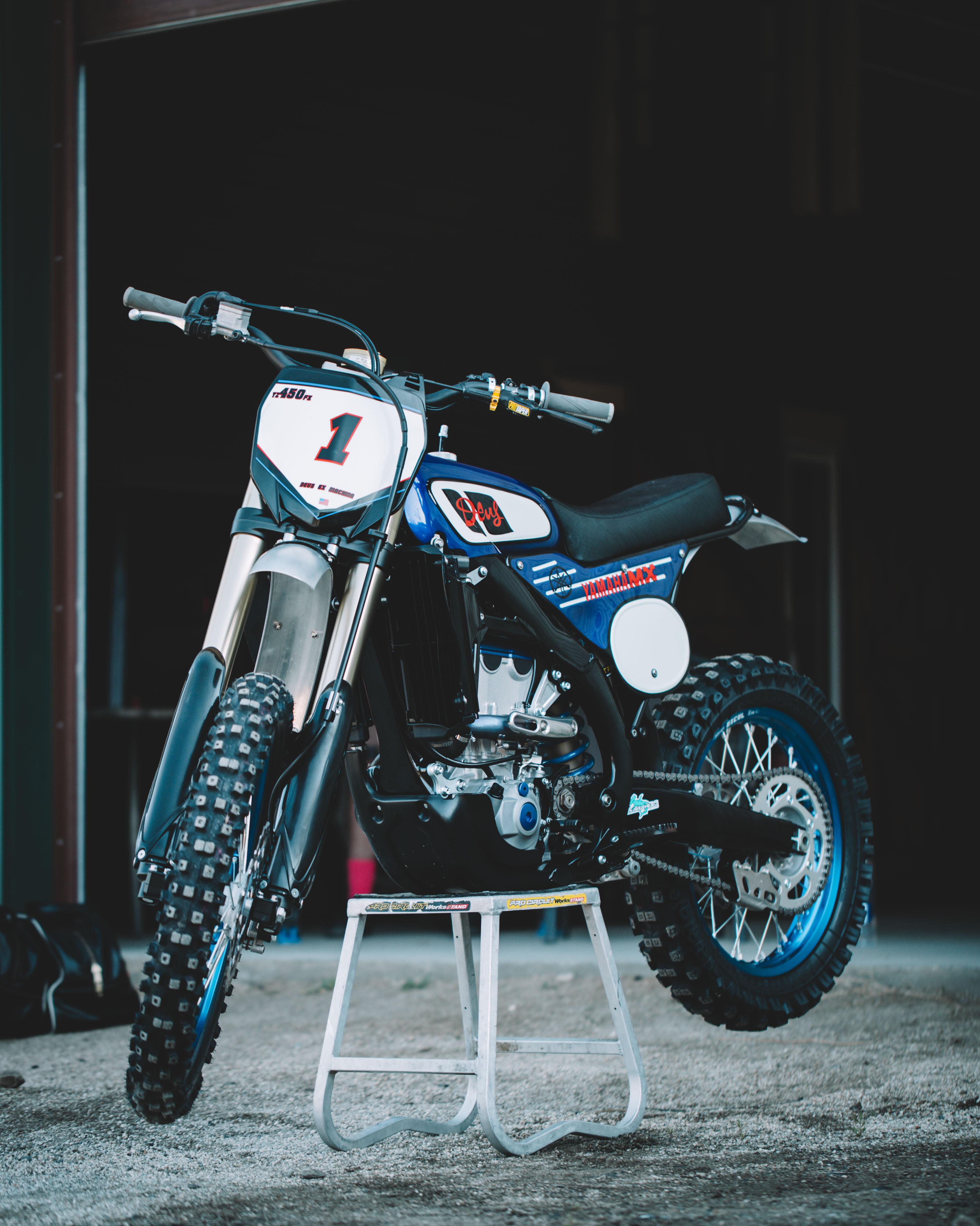 Deus Ex Machina YZF450FX custom bike