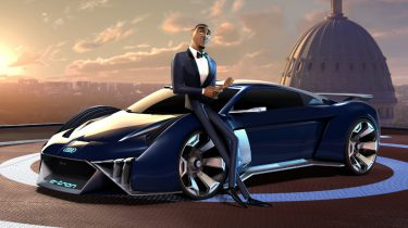 Audi RSQ e-tron, Spies in Disguise