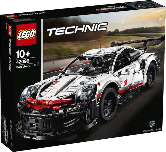 De LEGO TechnicPorsche 911 RSR.