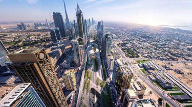 Sheikh Zayed Road, groene supersnelweg, snelweg, dubai, world architecture festival, x-space, smart cities, award