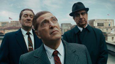 The Irishman Golden Globes Netflix