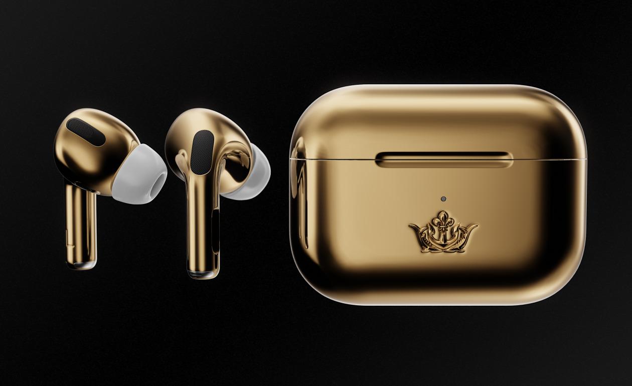 Caviar Gouden Apple AirPods Pro