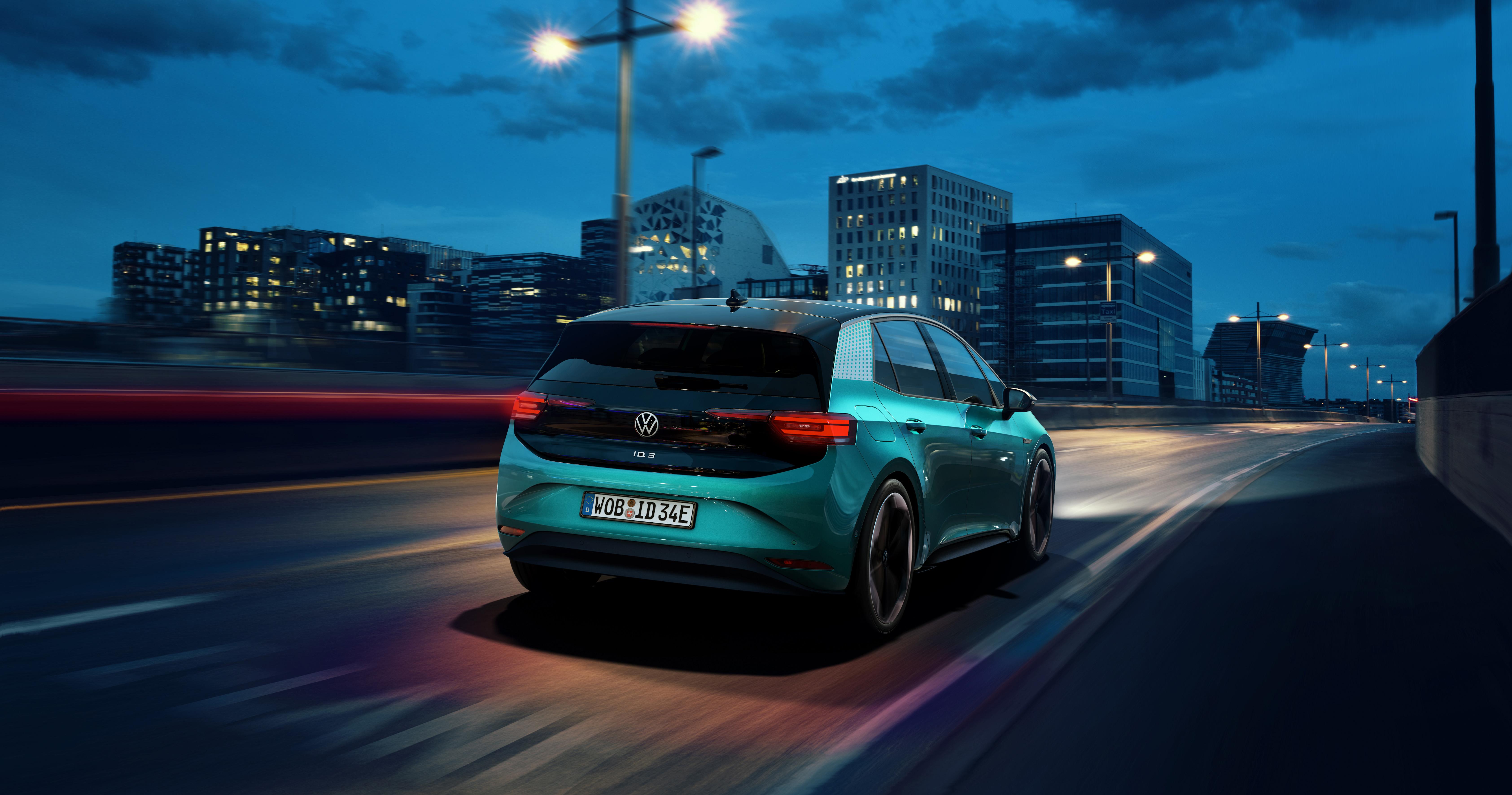 elektrische Volkswagen ID.3, goedkoper, e-golf