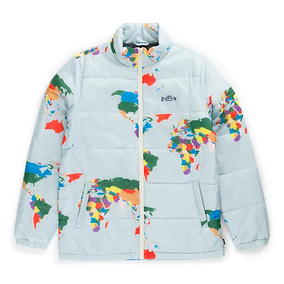 puffer jacket, vans x save our planet, collectie