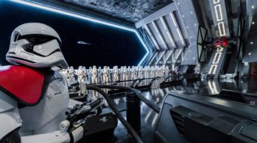 Star Wars Rise of the Resistance attractie Disney World