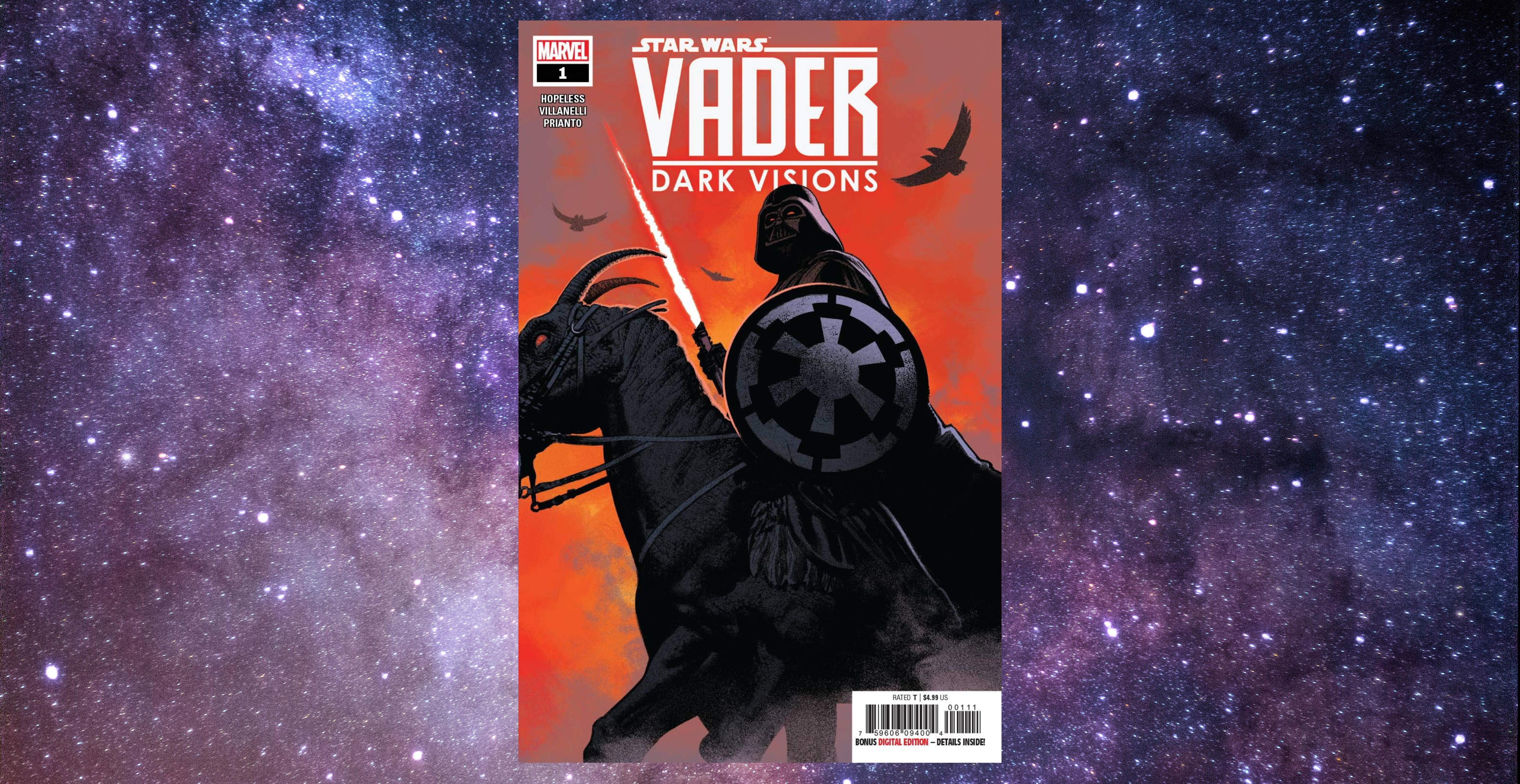 Star Wars Darth Vader Dark Visions Rise of Skywalker