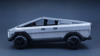 LEGO Tesla Cybertruck BrickinNick