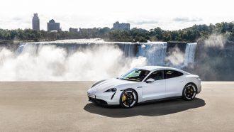 Elektrische Porsche Taycan Turbo