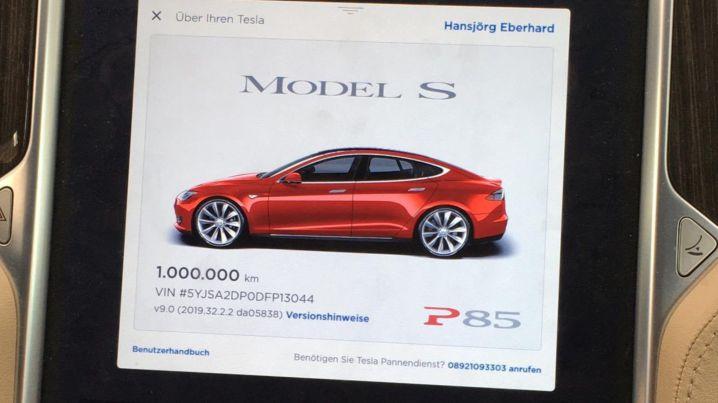 Tesla Model S 1 miljoen