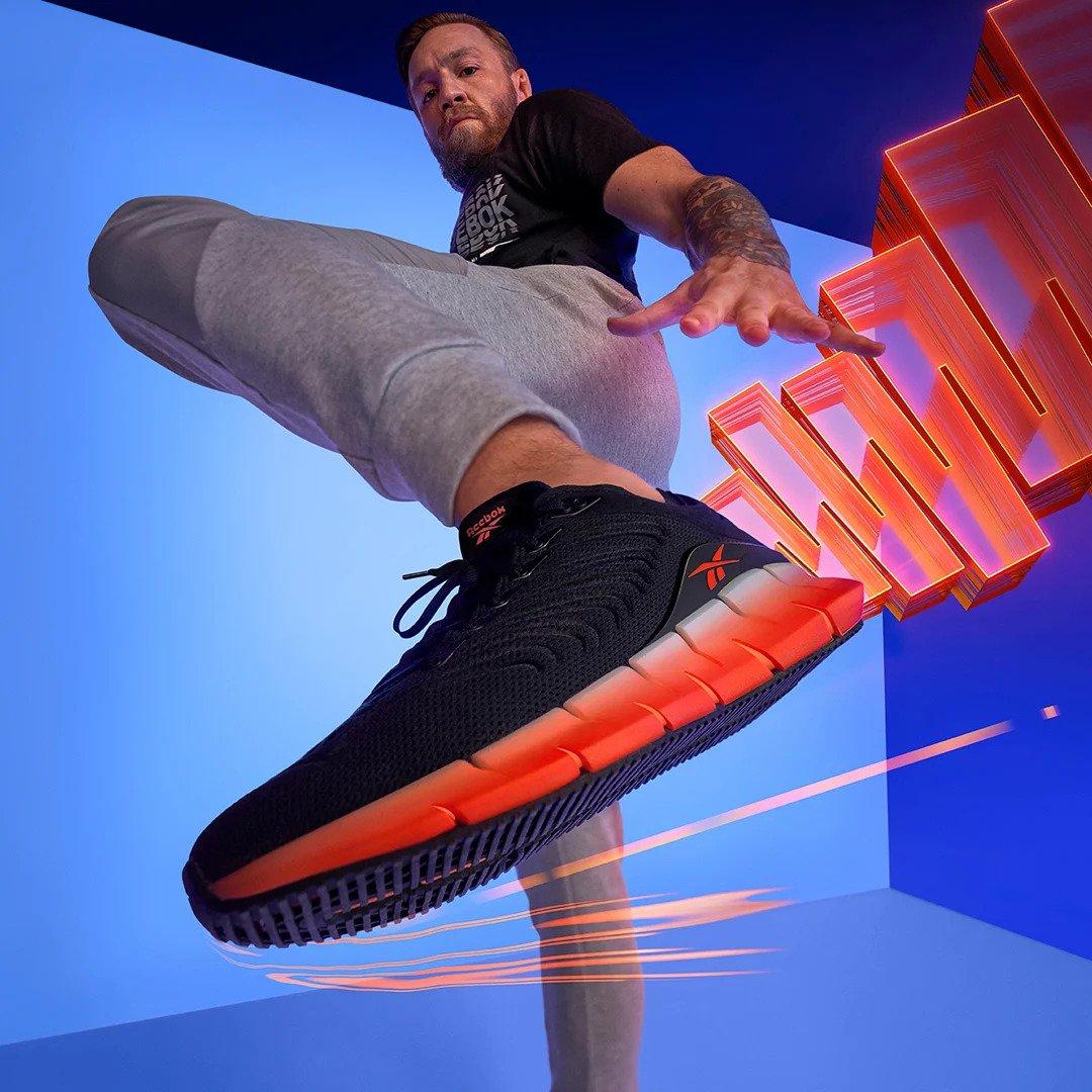 Conor McGregor x Reebok Zig Kinetica sneakers