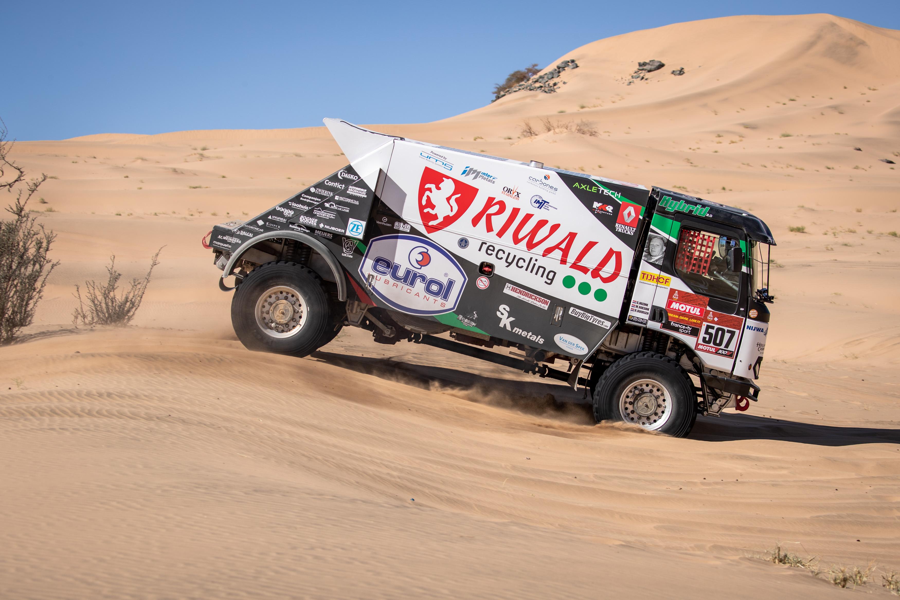 Dakar 2020 Riwald Hybride rallytruck