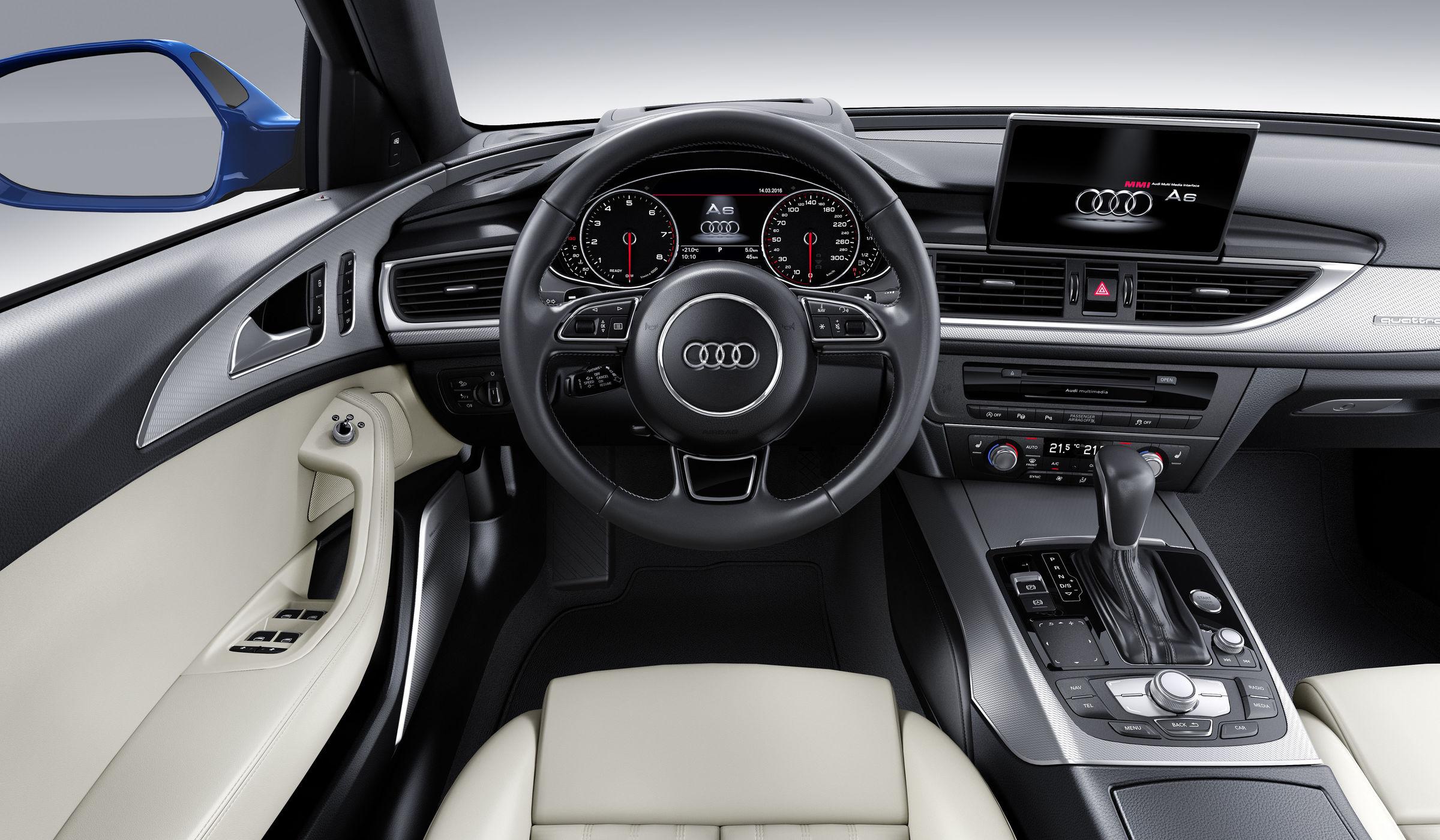 Audi A6 interieur