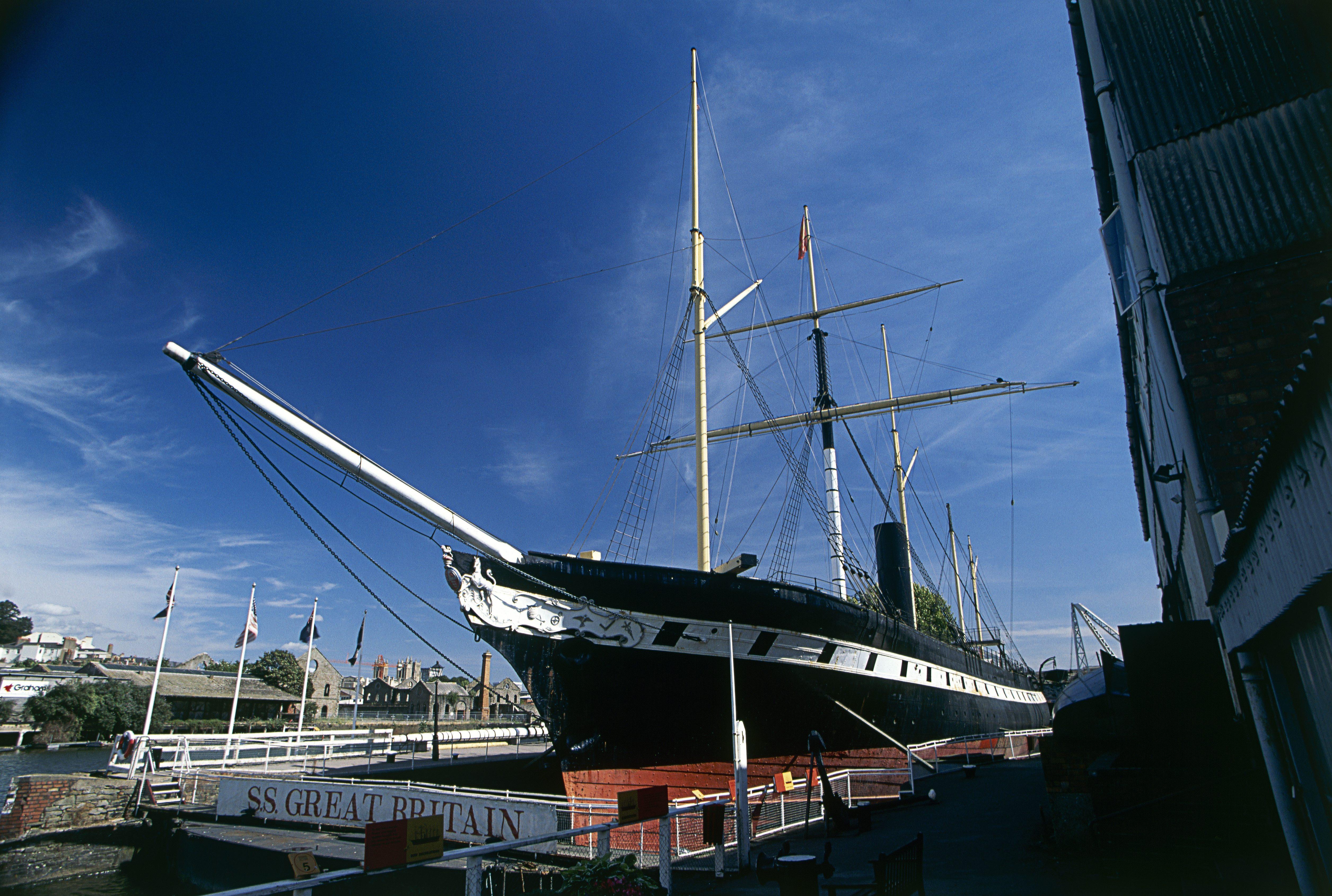 SS Great Britain, stedentrip, bristol