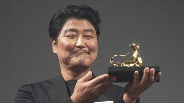 Pardo Excellence Award for Korean Actor Song Kang-ho - 72nd Locarno Film Festival
