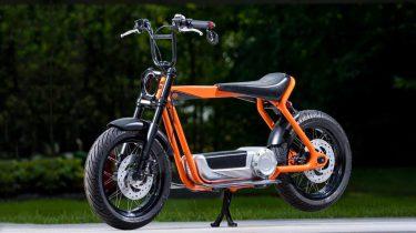 HARLEY-DAVIDSON, elektrische scooter, e-bike