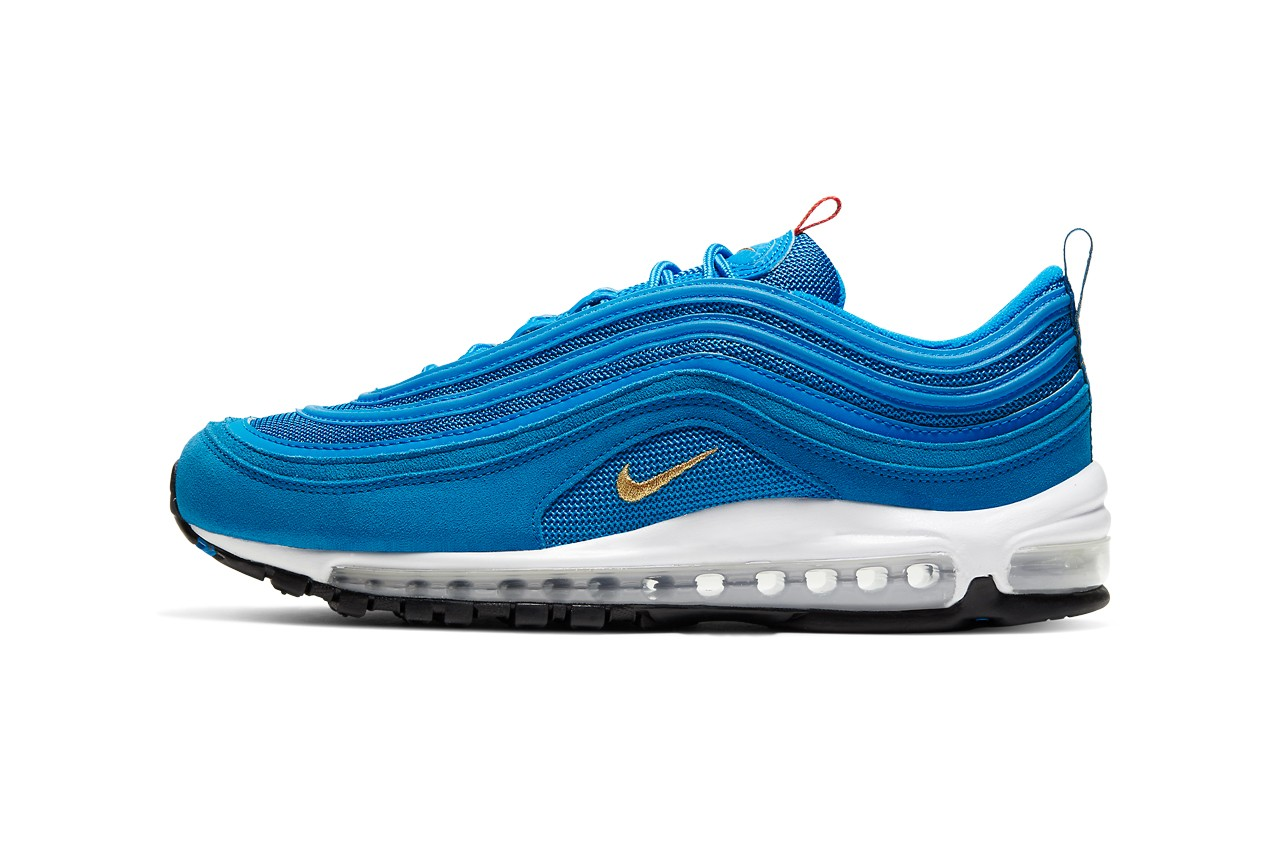 Nike Air Max 97, Olympic Rings Pack, olympische spelen, sneakers, blauw, 2