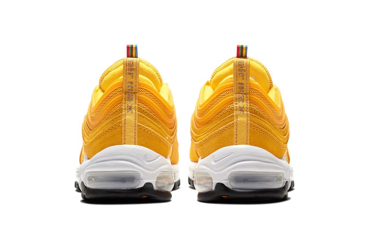 Nike Air Max 97, Olympic Rings Pack, olympische spelen, sneakers, geel, 2