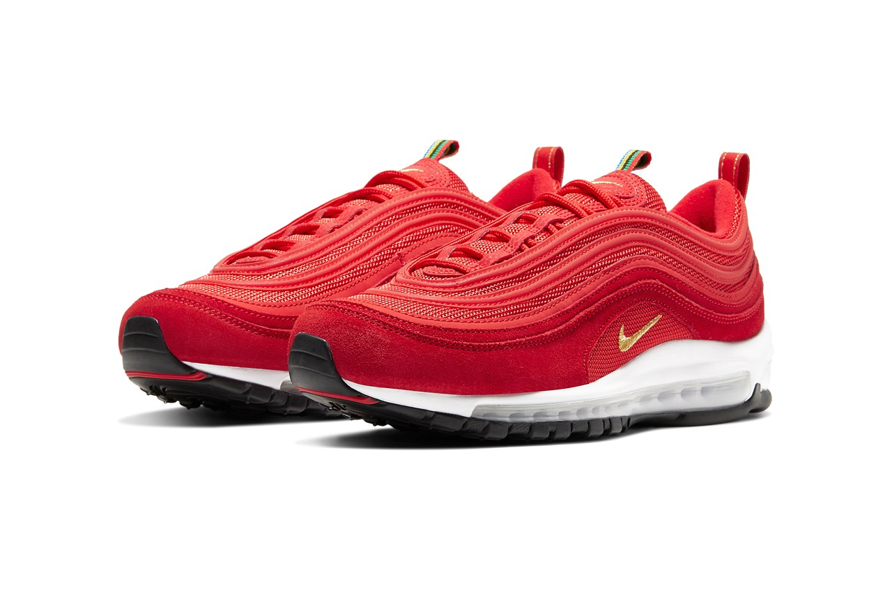 Nike Air Max 97, Olympic Rings Pack, olympische spelen, sneakers, rood, 2