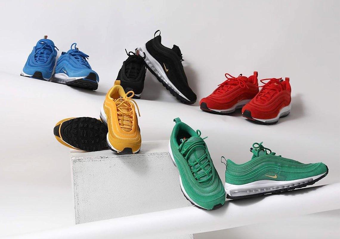 Nike Air Max 97 'Olympic Rings' Pack, olympische spelen, sneakers