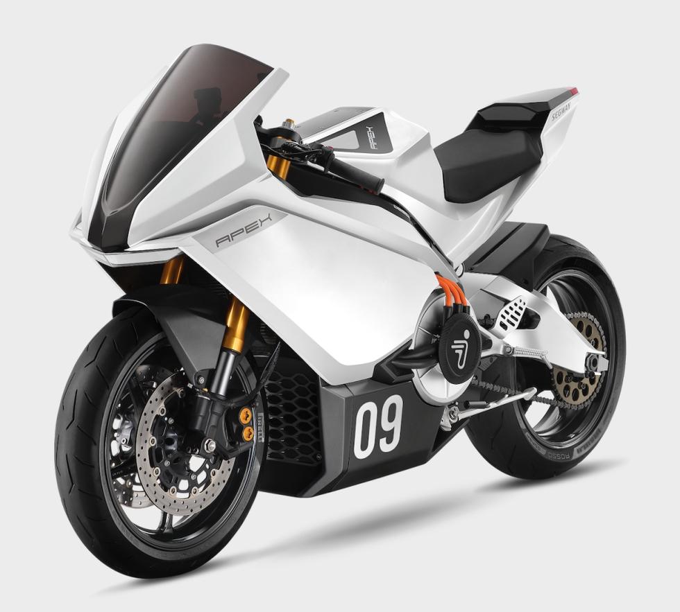 Segway Apex Electric Sportbike elektrische Superbike motor
