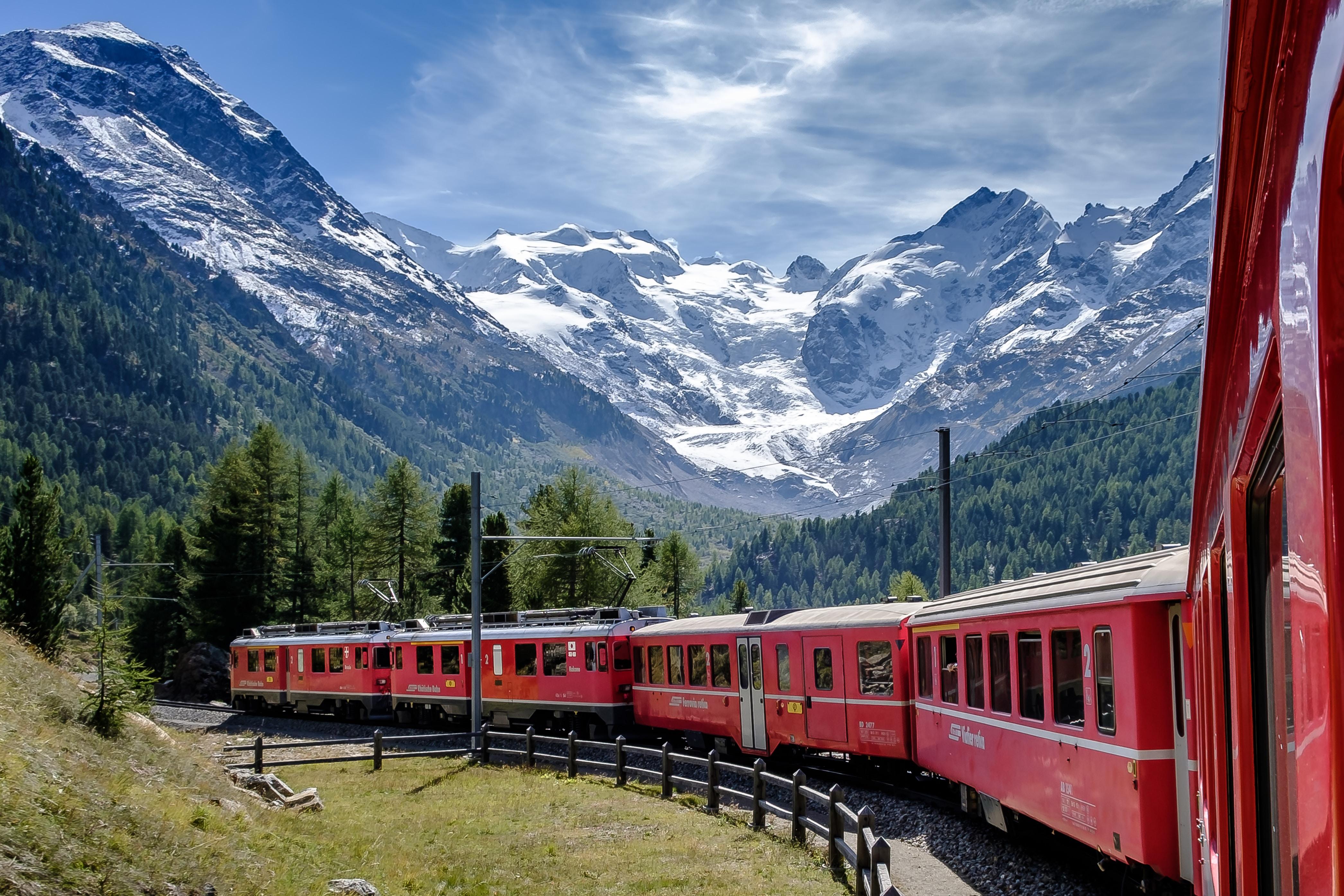 trein, glacier express, treinreis, europa, treinreizen, vliegschaamte