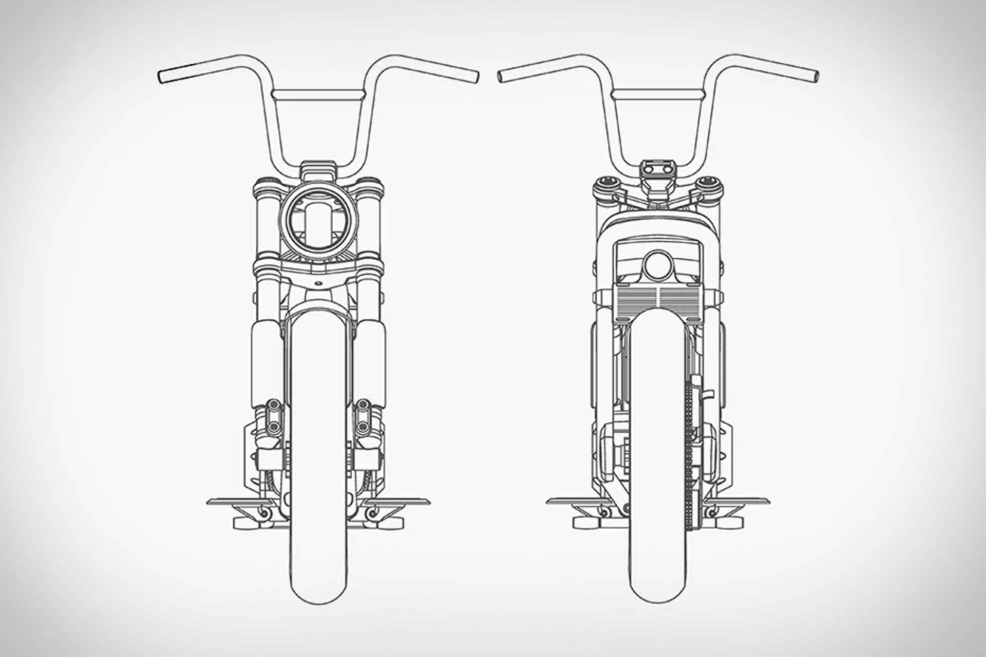 elektrische scooter, e-bike, harley-davidson