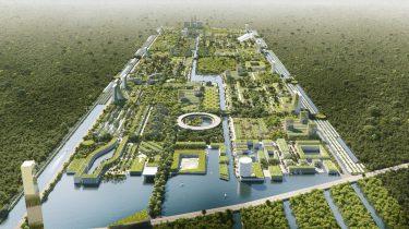 smart forest city, stefano boeri, stad van de toekomst, goren, mexico, cancun, architectuur, 1