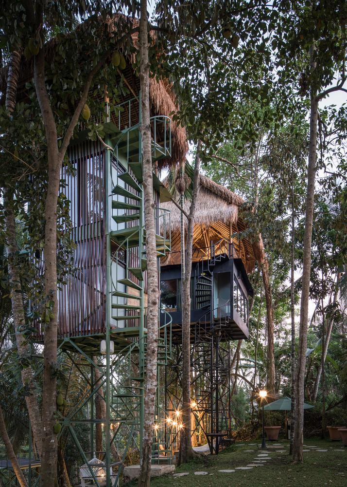 lift treetop boutique hotel, treehouse, bali, boomhutten
