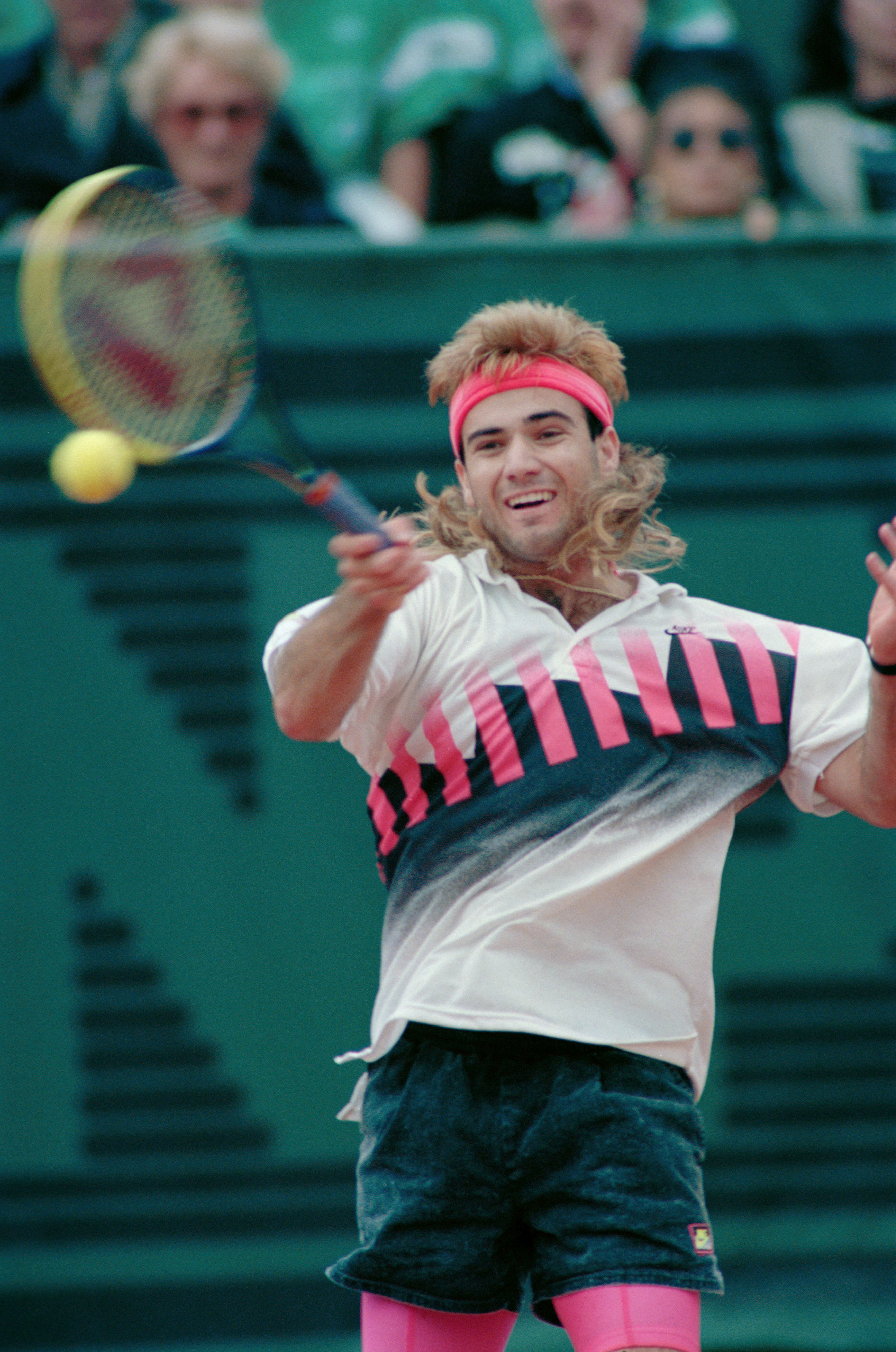 andre agassi, nike, tennis, sneakers, nikecourt Tech Challenge 20