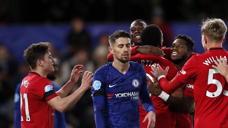 Chelsea Manchester United VAR