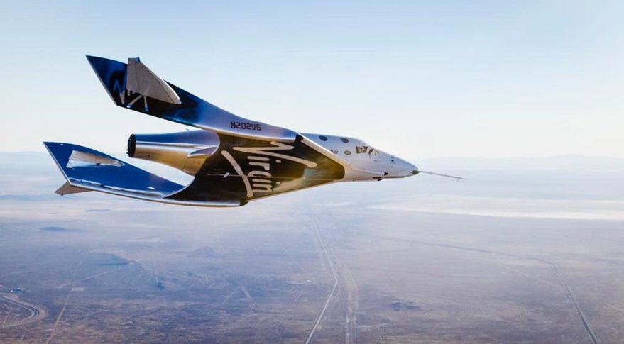 SpaceShipTwo, virgin galactic, ruimtereizen, reizen, ruimte, vakantie