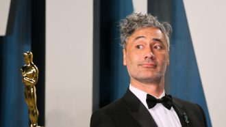 Taika Waititi Apple toetsenbord Oscars