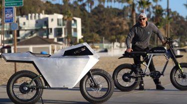 Tesla Cyberbike, cybertruck