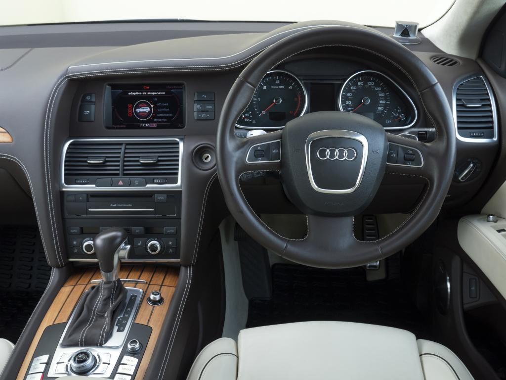 Audi Q7 interieur