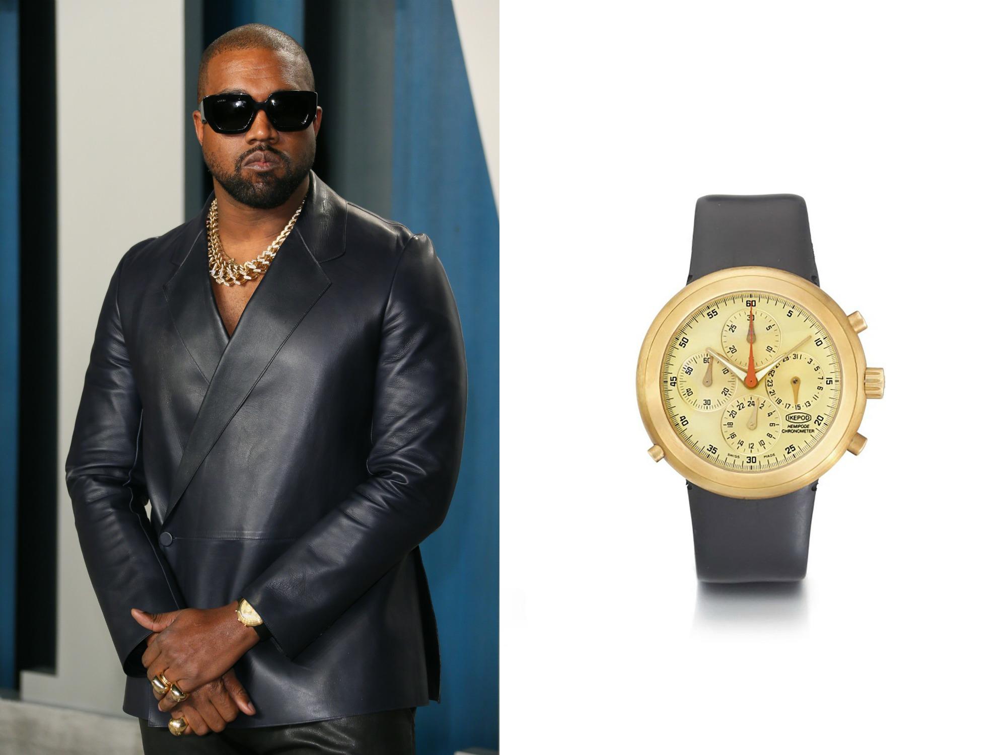 kanye west, horloges, oscars 2020, Ikepod Hemipode