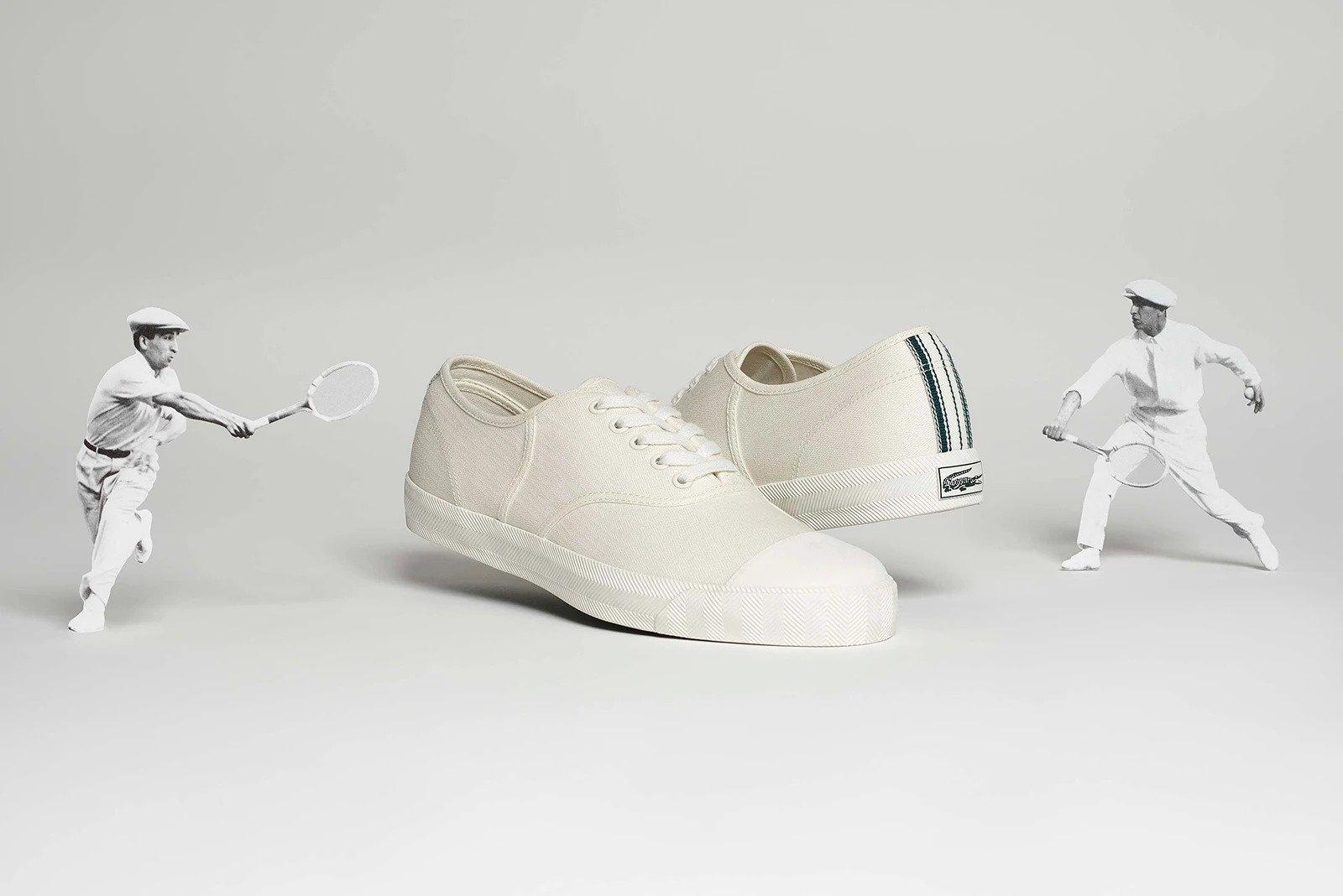 lacoste, rene, tennisschoenen, tennis-sneakers, 1963