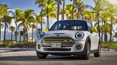 mini electric, eerste elektrische auto, test, miami