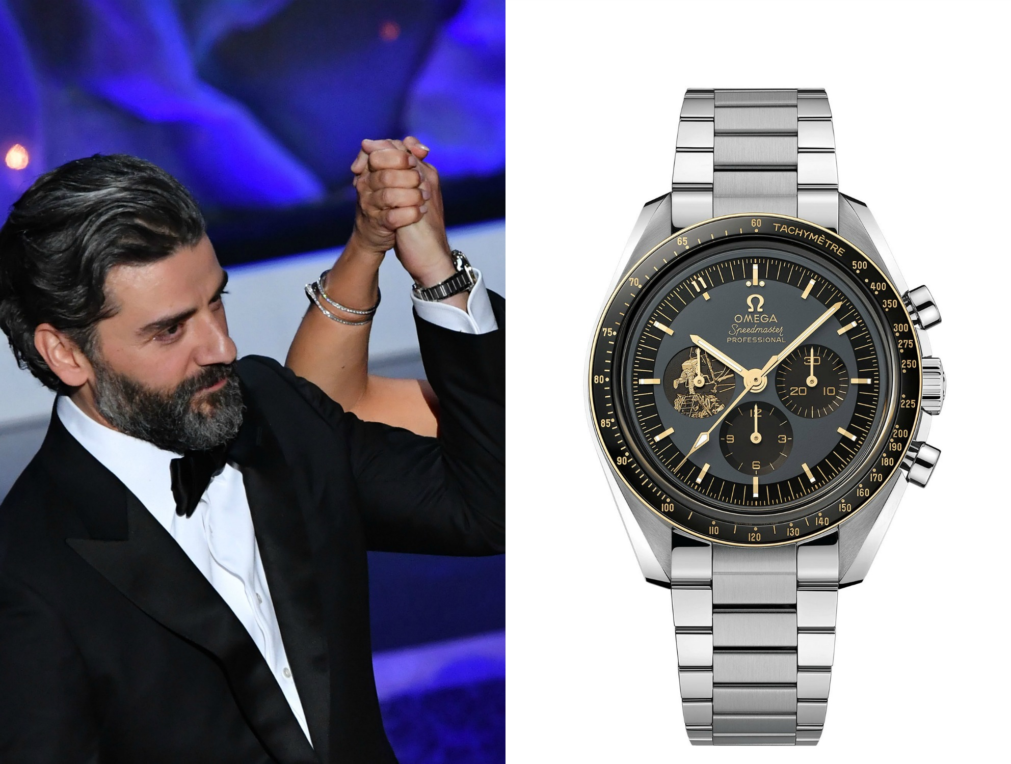 Omega Speedmaster Moonwatch Limited Anniversary Series, oscar isaac
